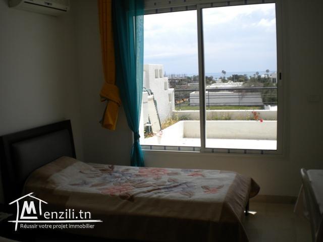 Une villa de 170 m² sur un terrain de 572 m² à Hammamet à 450 MDT