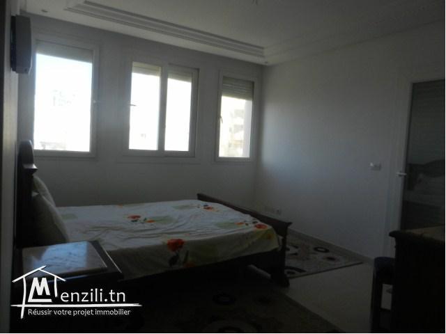 A louer à l'année un bel appartement S+2 meublé à Sousse Corniche