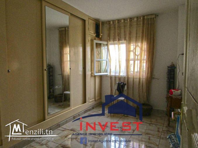 Vente appartement S+3 Ain zaghouan