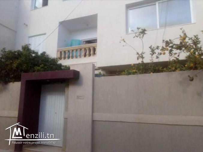 Deux etages de villa a nabeul ville :