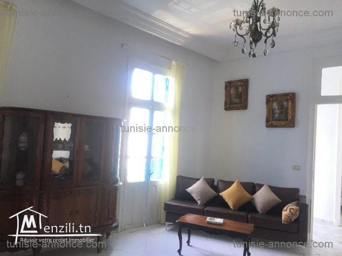 Un joli appartement meublé à la marsa ref alz3130