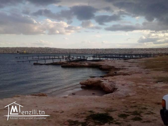 Maison deuxième position de la plage beni khair