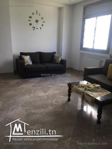 Joli appartement meublé à la soukra  alz3297