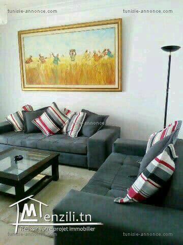 Coquet appartement richement meublé alz3296