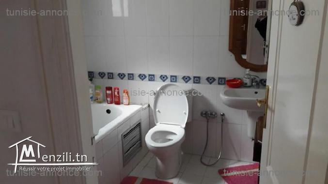 Un appartement  à la soukra ref mz734
