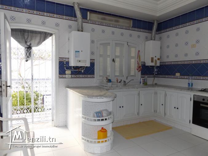 Une villa ricehement meublé à AFH1 Nabeul