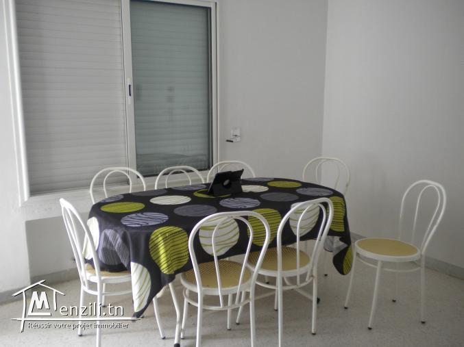 Un appartement de 100 m² à 250 MDT à Hammamet nord