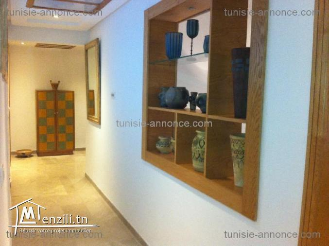 Appartement meublé au jardin d carthage ref al1450