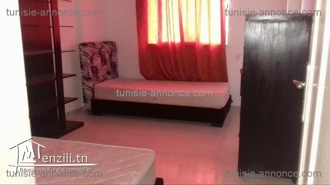 Un appartement meublé à l'aouina ref al2080