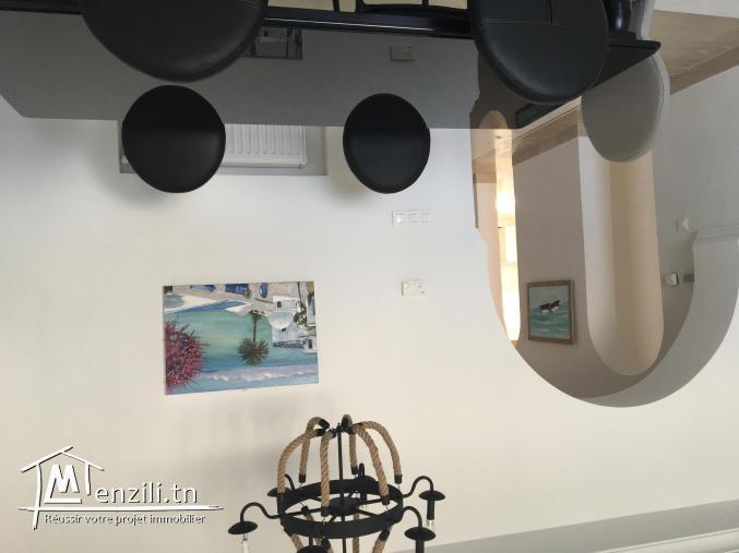 Appartement S2 meublé avec vue Gammarth ref: AL2205