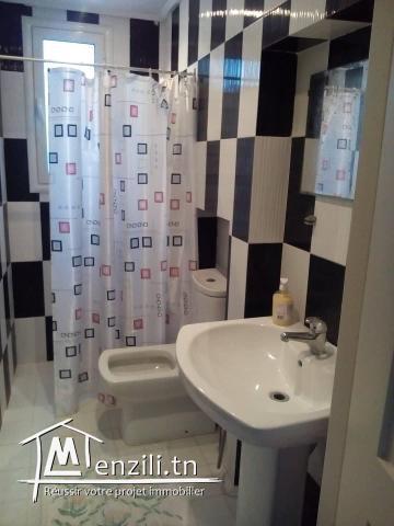 Appartement S+1 meublé à Nabeul – NLA116