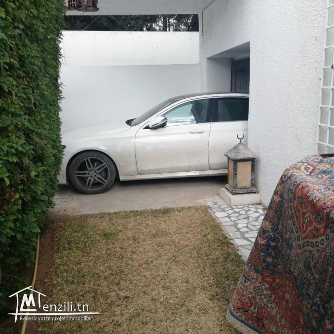 rez de chaussée d'une villa