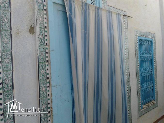 Une maison arabe de 200 m² sur un terrain de 135 m² à 250 MDT à Hammamet