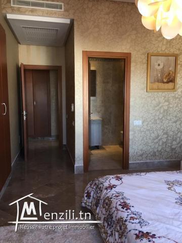 Appartement Meublé s+3 à la marsa ref MAL0176