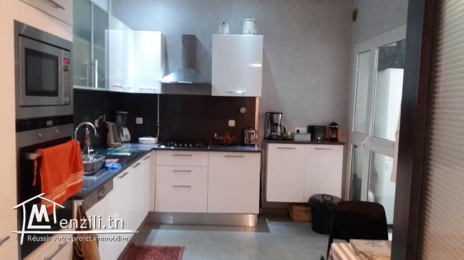 A vendre appartement 3+SS+jardin Jardins de Carthage