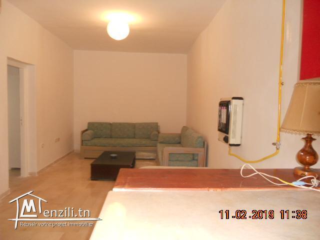 Appartement meublé a louer a Amilcar