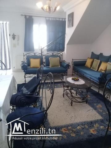 Duplex meublé à Hammamet