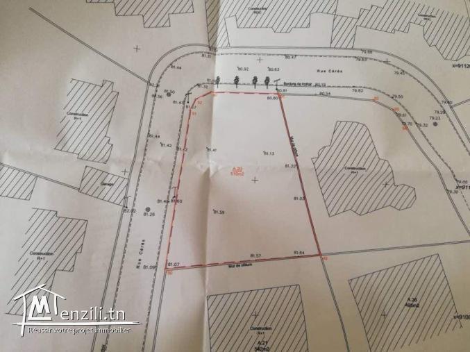Terrain idéal pour villa papiers en règles