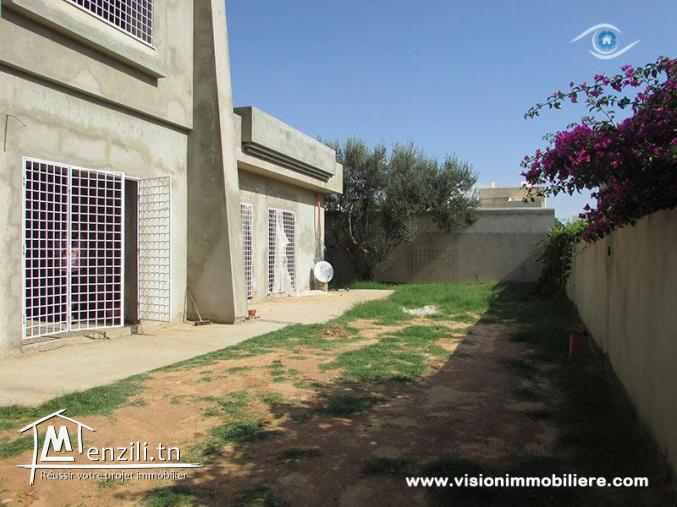 Vente villa concorde S+4 Hammamet-nord