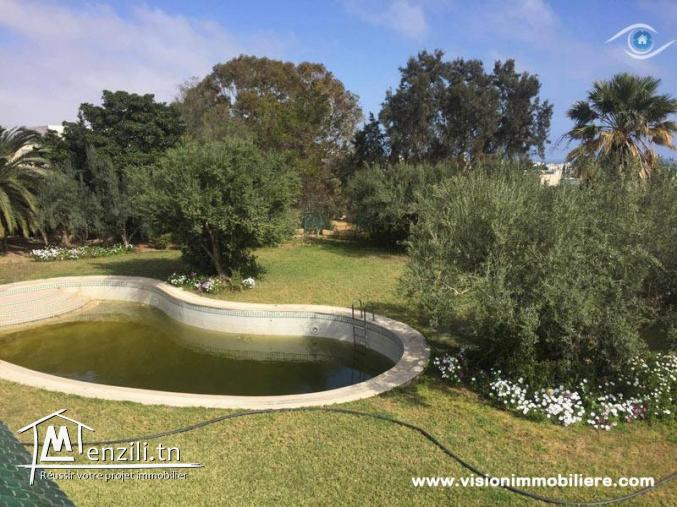 Location villa Paradiso S+7 Hammamet-nord