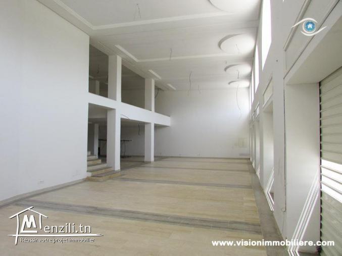 Location Espace commercial les palmiers Hammamet-centre