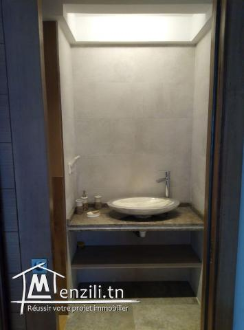 Appartement Meublé s+2 à sidi daoud ref: MAL0183