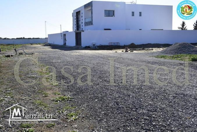 Terrain a vendre à 5km de Yasmin Hammamet