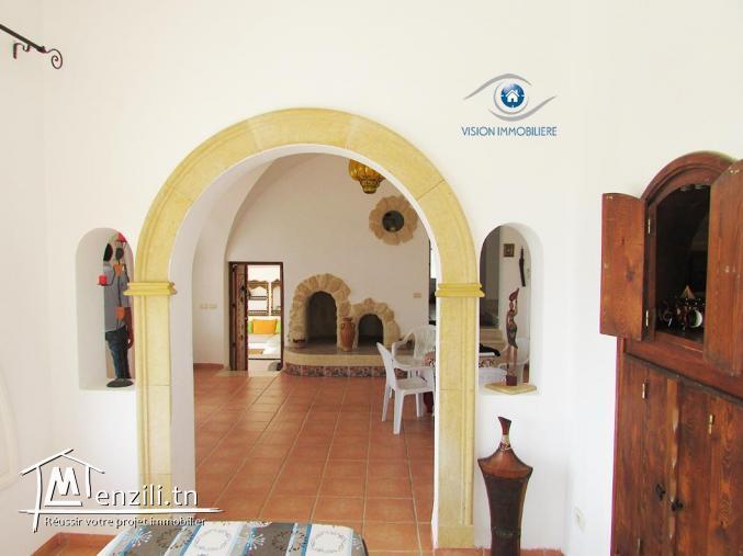 Vente villa Turki S+3 Hammamet-nord