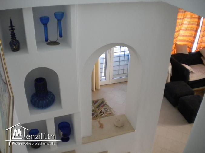 Une villa à Hammamet Nord de 195 m² sur un terrain de 278 m² à 800 000 DT