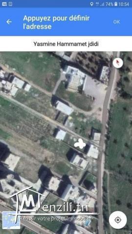 Terrain a vendre à Yasmina hammamet sidi jdidi