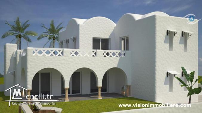 Vente Villa Hortense S+4 Hammamet-centre