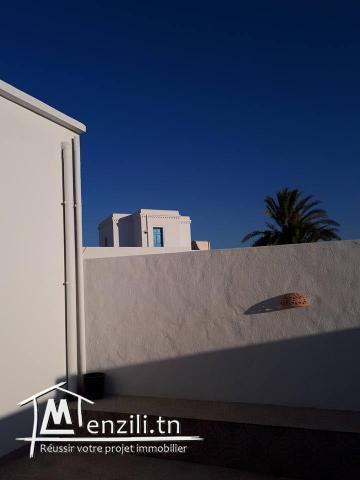 villa à houmt souk avec piscine