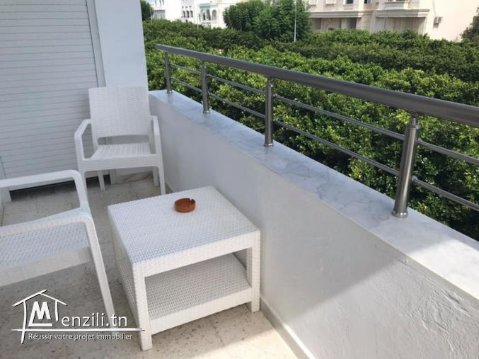 Appartement Meublé s+2 à la marsa ref: AL3036
