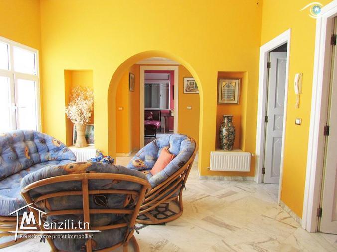 Vente villa jridi S+4 Hammamet-nord