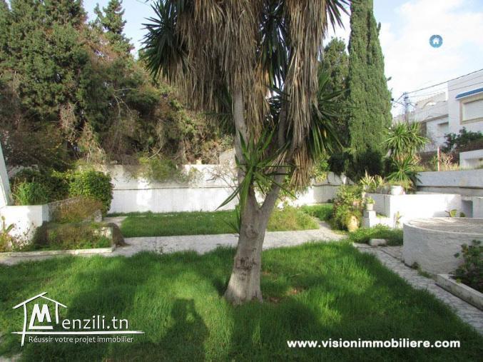 Vente villa orientale S+3 Hammamet-centre