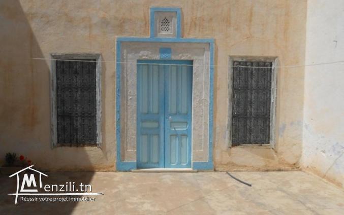Une maison de style  arabe de 70 m² à 60 MDT à Hammamet