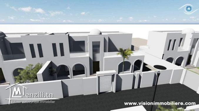 Vente Villa Lys S+3 Manaret-hammamet
