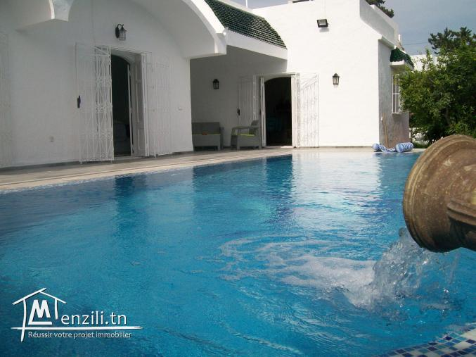 Une villa à Hammamet de 200 m² sur un terrain de 750 m² à 770 MDT