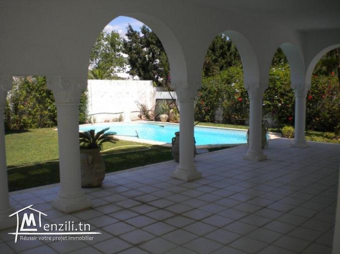 villa à 1200 MDT à Jinen Hammamet