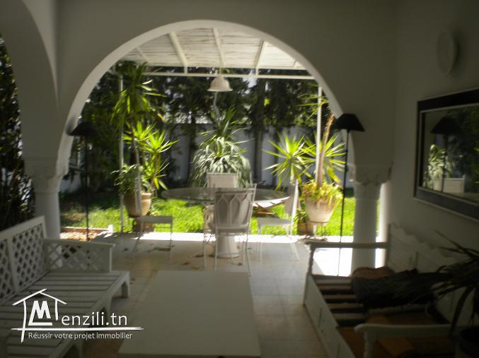 Une villa de 250 m² sur un terrain de 750 m² à Hammamet