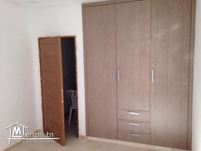 Un appartement de 105 m² à 200 MDT à la zone touristique de Hammamet Nord
