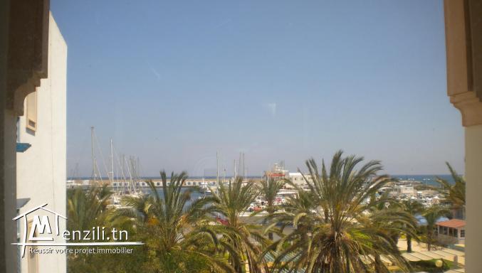 Un apparemment de 170 m² à 450 000 DT à La Marina de Hammamet