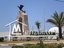 un terrain a vendre centre ville el haouaria et  5min de la plage