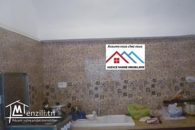 Belle maison au v ville d'el haouaria avec t bleu