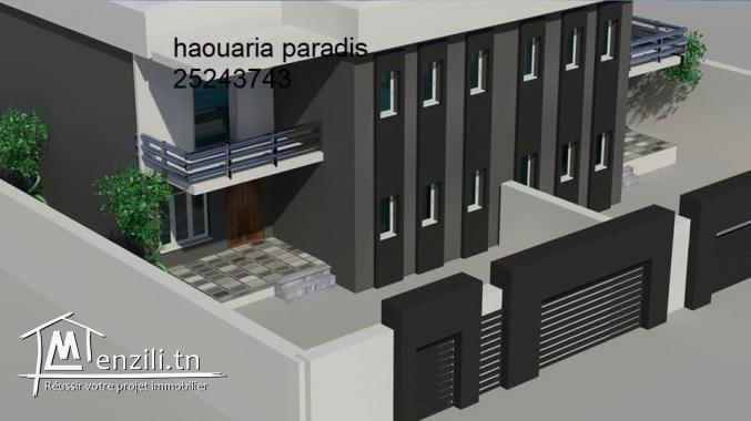 duplex avec garage en cour de construction clé en main vue de mer 25243743