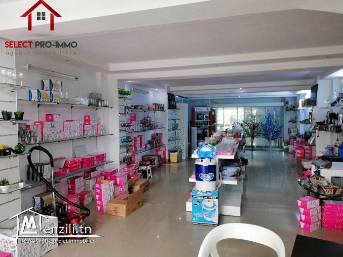 Local commercial de 250 m² à AFH Mrezgua – LC026