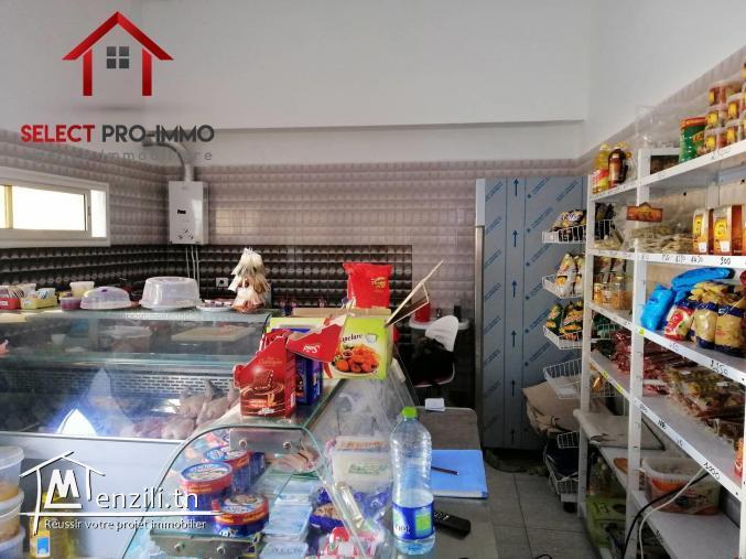 Fonds de commerce et murs à Mrezgua – LC025
