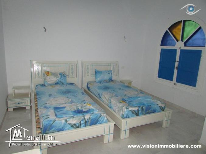 Vacances villa KÂBAR S+4 Hammamet-centre