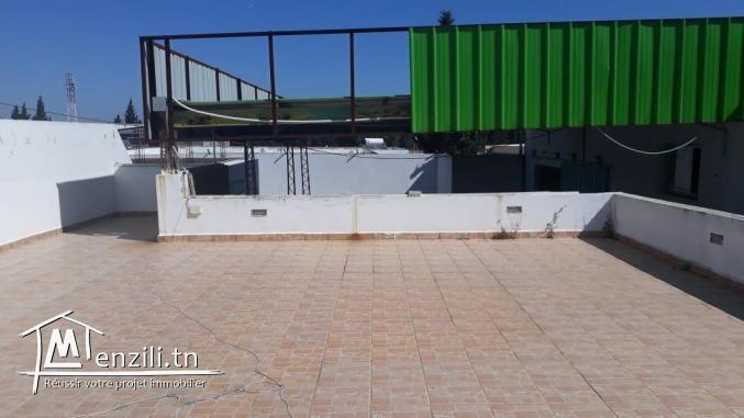 vente ou location dépôt à Boumhel pour usage industriel ou stockage
