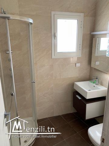 appartement s+2 semi meublé